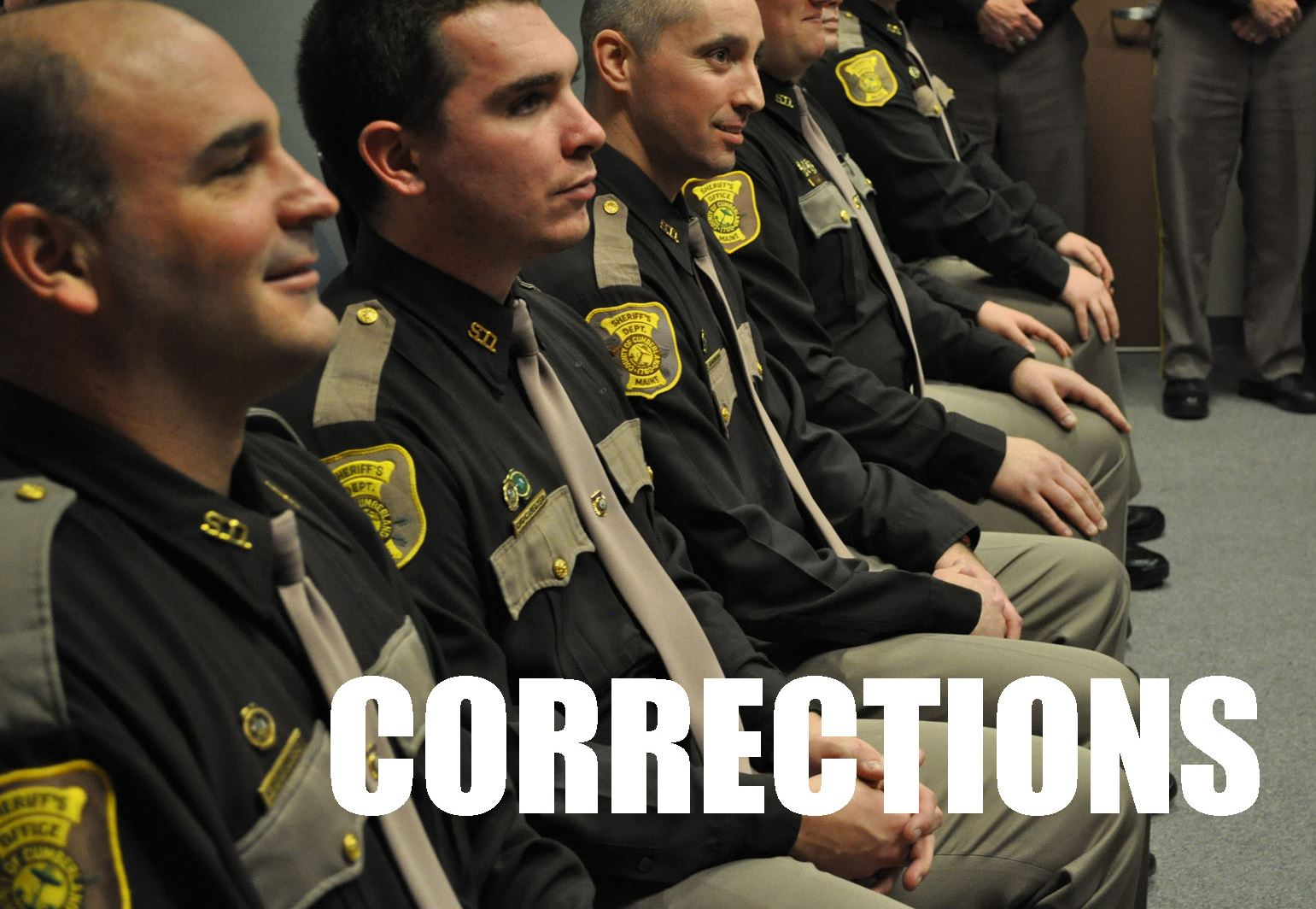 corrections job button