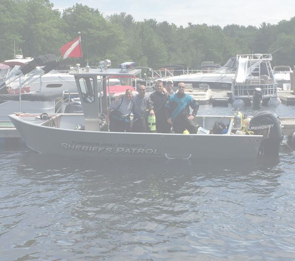 Dive Team on Boat