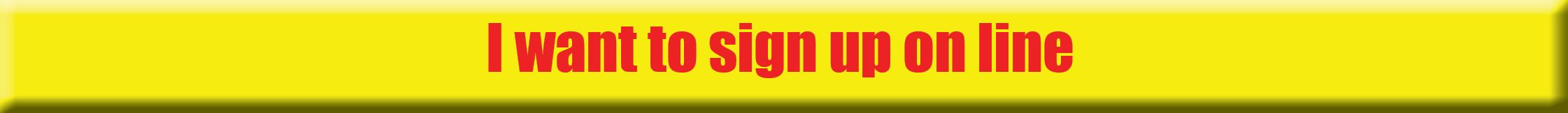 sign up on line button