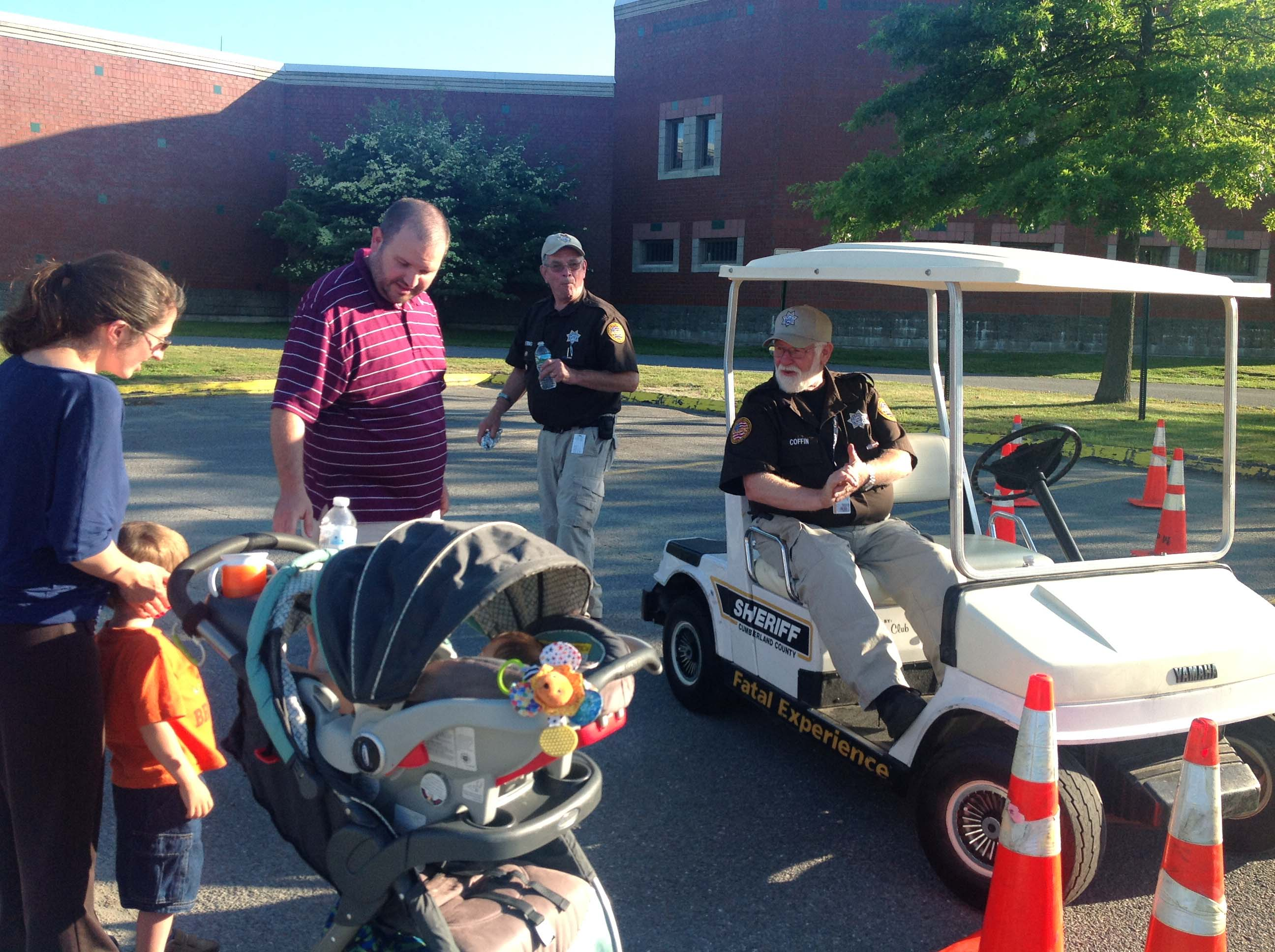 VIPS Members on Distracted Driving Detail